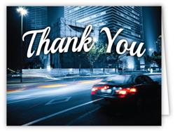 Car Bow Store - Thank You Greeting Cards (Pack of 50)