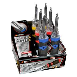 Performance Tool - LED Bit Driver Display (6 Piece)
